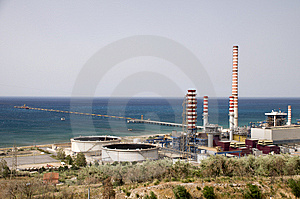 Modern Power Station Stock Images - Image: 15140064
