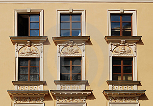 House On The Old City In Cracow Royalty Free Stock Photos - Image: 15140858