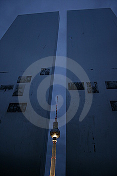 Fernsehturm TV Tower In Berlin Royalty Free Stock Photography - Image: 15142007