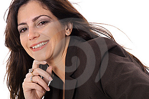 Closeup Of Business Woman Stock Images - Image: 15146614