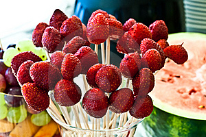 Weeding Assorted Arrangement Fruits  Royalty Free Stock Photos - Image: 15147458