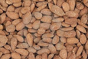 Almonds Background Royalty Free Stock Photos - Image: 15148568