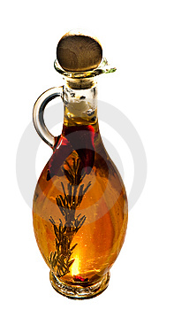Jug With  Oil Royalty Free Stock Photography - Image: 15148667