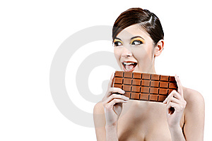 Milk Chocolate Stock Image - Image: 15150951