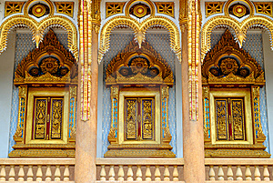 Thai Temple In  Khonkane Province Royalty Free Stock Photos - Image: 15151378