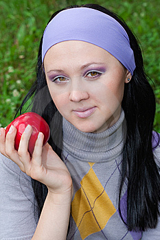 The Young Beautiful Woman Stock Images - Image: 15151984