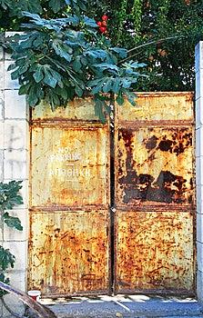 Old Gate Stock Image - Image: 15154461