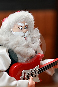 Santa Claus Toy Royalty Free Stock Images - Image: 15156039