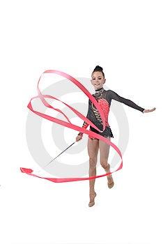 Gymnast Girl Royalty Free Stock Image - Image: 15156706