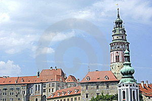 Castle And A Tower Stock Photography - Image: 15156942