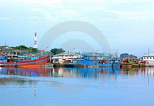 Dock Side Stock Image - Image: 15157141