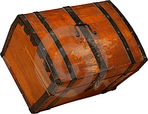 Wooden Chest Royalty Free Stock Photography - Image: 15157257