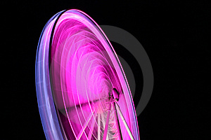 Pink Ferris Wheel Royalty Free Stock Photos - Image: 15157878