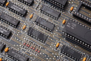 Integrated Circuit Royalty Free Stock Images - Image: 15158599