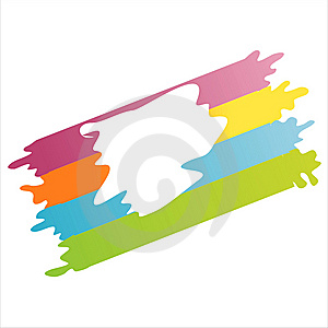 Colorful Abstract Frame Stock Image - Image: 15158941