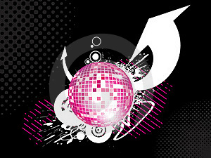 Abstract Disco-ball Background Stock Photo - Image: 15160720