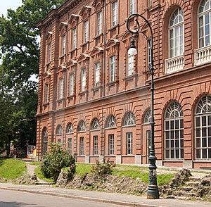 European University Building Royalty Free Stock Photos - Image: 15160738