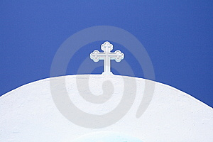 White Cross Stock Photography - Image: 15162002