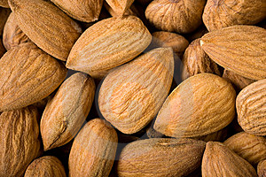 Almonds Background Royalty Free Stock Photography - Image: 15162347