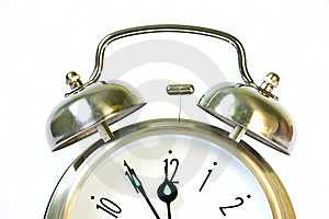 Classical Retro Ring Clock Royalty Free Stock Photography - Image: 15164017