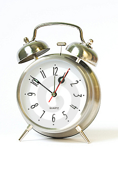 Classical Retro Ring Clock Stock Photography - Image: 15164032