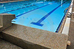 Swimmingpool Stockfoto - Bild: 15164220