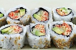 Fresh Sushi Stock Photos - Image: 15164243