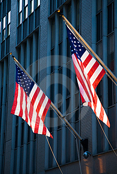 American Flags Royalty Free Stock Image - Image: 15164396