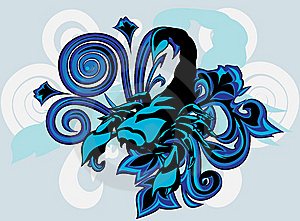 Scorpion With  Pattern Stock Photo - Image: 15165700