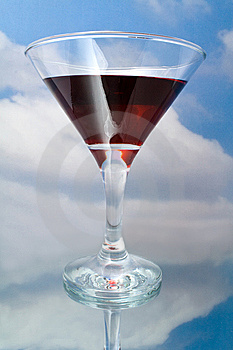 Red Wine In Glass Stock Photography - Image: 15167182