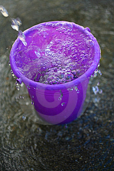 Water In Pail Stock Photography - Image: 15167362