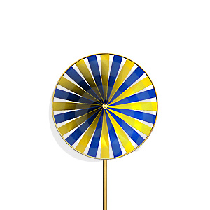 Paper Windmill Royalty Free Stock Photography - Image: 15170767