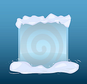 Winter Blue Banner Royalty Free Stock Images - Image: 15172249