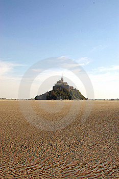Low Tide At Mont St Michel Stock Photo - Image: 15172790