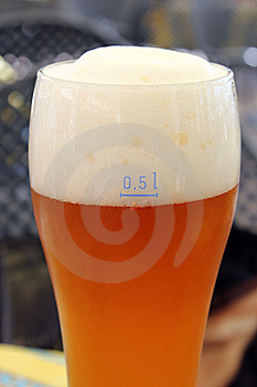 Bavarian Refreshment Drink Royalty Free Stock Image - Image: 15172926