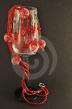 Sparkling Beads Royalty Free Stock Photos - Image: 15172968