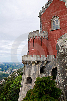 Pena National Palace In Sintra Royalty Free Stock Photography - Image: 15173997