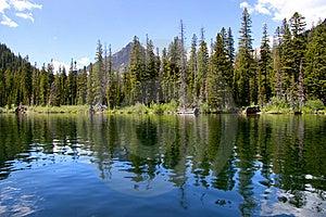 Two Medicine Lake Royalty Free Stock Photos - Image: 15174968