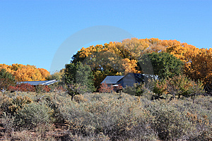 Autumn In Galisteo Royalty Free Stock Photo - Image: 15178145