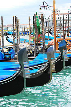 Venice Gondolas Royalty Free Stock Photos - Image: 15178208