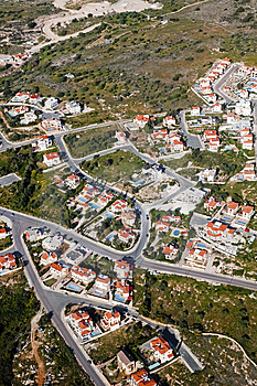 Aerial View Of Residential Area Royalty Free Stock Images - Image: 15178409