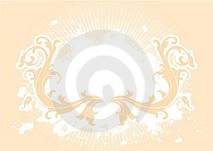 Splash Retro Back Royalty Free Stock Image - Image: 15180186