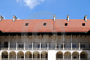 Renaissance Arcades. Wawel Royal Castle In Cracow Stock Photo - Image: 15181400