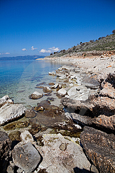 Greek Coastline Stock Photography - Image: 15181842