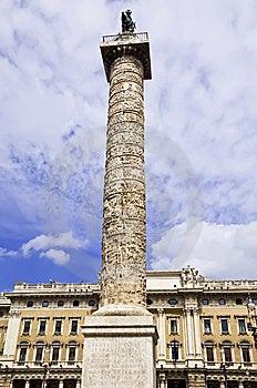 Column Of Marcus Aurelius Stock Photo - Image: 15182660