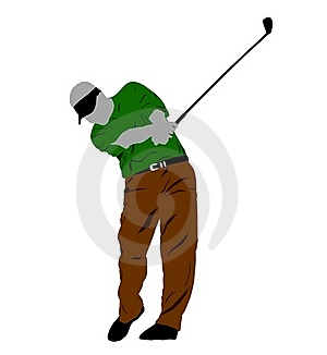 Golf Swing Stock Image - Image: 15183231