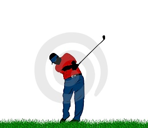 Golf Swing Royalty Free Stock Images - Image: 15183249