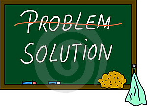 Problem / Solution Stock Photography - Image: 15183292