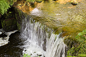 Fast Flowing Water In The Mountain River Royalty Free Stock Photography - Image: 15184877
