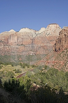 Zion Landscape Royalty Free Stock Photography - Image: 15186147